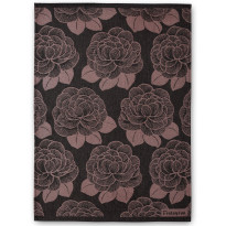 Keittiöpyyhesetti Finlayson Sylvi, 50x70cm, musta/roosa