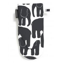 Patakinnas Elefantti, mustav/alkoinen, 15x30cm