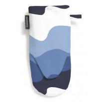Patakinnas Aalto, sininen/valkoinen, 15x30cm