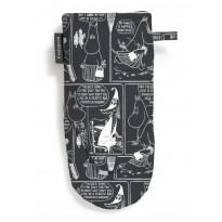 Patakinnas Sarjakuva-Muumimamma, mustavalkoinen, 15x30cm