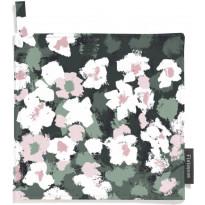 Patalappusetti Finlayson Leinikki, 22x22cm, vihreä/roosa, 2 kpl/pak