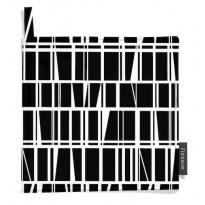 Patalappu Finlayson Coronna, 22x22cm, musta/valkoinen, 2kpl
