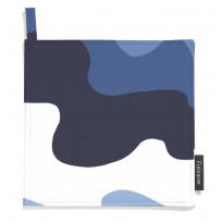 Patalaput Aalto, sininen/valkoinen, 22x22cm