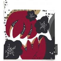 Patalappusetti Finlayson Ulpu, 22x22cm, punainen/harmaa, 2 kpl/pak