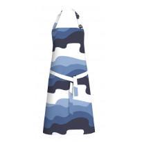 Kokoessu Aalto, sininen/valkoinen, 70x85cm