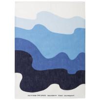 Keittiöpyyhe Aalto, sininen/valkoinen, 50x70cm, 2kpl