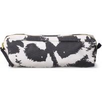 Meikkilaukku Finlayson Pesue, S, 20x6cm, musta/valkoinen