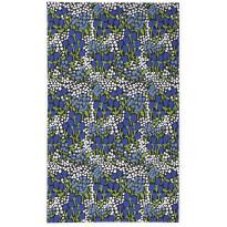 Pöytäliina Finlayson Huiske, 145x250cm, musta/sininen