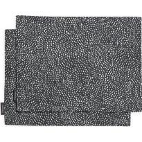 Tabletti Finlayson, Kurupuro 46x35cm, musta/valkoinen 2 kpl/pak