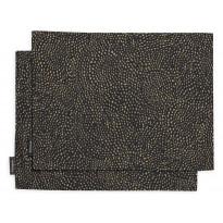 Tablettisetti Finlayson Kurupuro, 46x35cm, musta/kulta, 2 kpl/pak