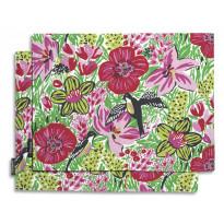 Tabletti Finlayson, Paratiisi 46x35cm, pinkki/vihreä 2 kpl/pak