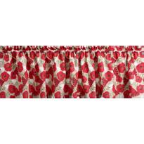Verhokappa Finlayson Anni, 50x250cm, beige/punainen