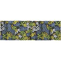 Verhokappa Finlayson Armas, 50x250cm, musta/keltainen/vihreä