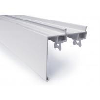 Verhokisko FP-Tuotteet 26606, kaksiurainen, otsalauta, valkoinen, 400cm
