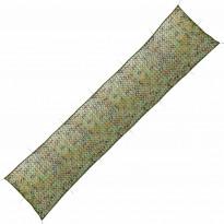 Naamiointiverkko säilytyslaukulla, 1,5x7m, vihreä