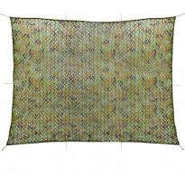 Naamiointiverkko säilytyslaukulla, 3x4m, vihreä