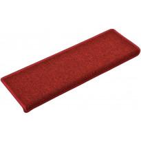 Porrasmatot 15kpl, 65x25cm, punainen