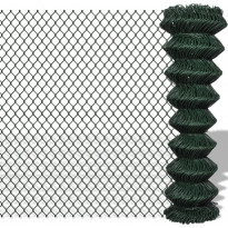 Verkkoaita, teräs, 1.5x15m, vihreä