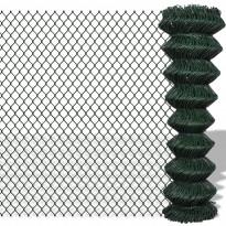 Verkkoaita, teräs, 1.25x25m, vihreä