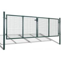 Puutarhan verkko-aidan portti, 289x75cm/306x125cm