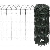 Puutarhan raja-aita, jauhemaalattu rauta, 10x0.65 m