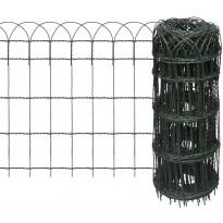 Puutarhan raja-aita, jauhemaalattu rauta, 25x0.65 m