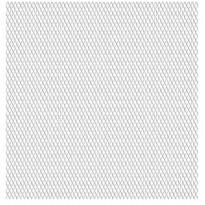 Puutarhan verkkoaita, ruostumaton teräs, 50x50cm, 20x10x2mm