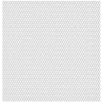 Puutarhan verkkoaita, ruostumaton teräs, 50x50cm, 45x20x4mm