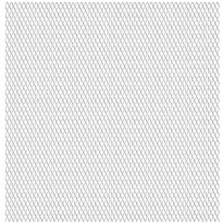Puutarhan verkkoaita, ruostumaton teräs, 100x85cm, 45x20x4mm