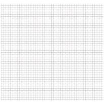 Puutarhan verkkoaita, ruostumaton teräs, 50x50cm, 11x11x2mm