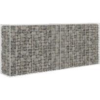 Gabion/kivikori, galvanoitu teräs, 85x30x200cm, Verkkokaupan poistotuote