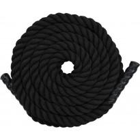 Voimaköysi 12m, polyesteri, musta