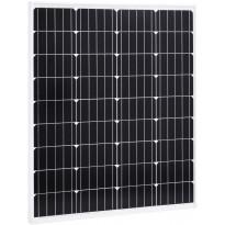 Aurinkopaneeli 80 W, monikiteinen alumiini ja turvalasi