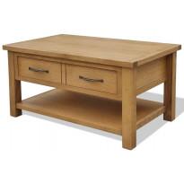 Sohvapöytä 88x53x45 cm täystammi