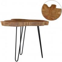 Sohvapöytä (60-70)x45 cm tiikki