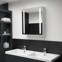 Led kylpyhuoneen peilikaappi 62x14x60 cm