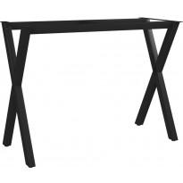 Ruokapöydän jalat x-runko 100x40x72 cm