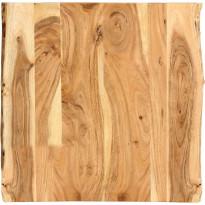 Pöytälevy täysi akaasiapuu 60x60x2,5 cm