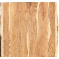 Pöytälevy täysi akaasiapuu 60x60x3,8 cm