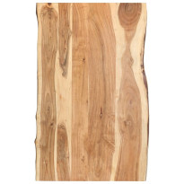 Pöytälevy täysi akaasiapuu 100x60x3,8 cm