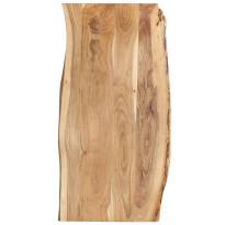 Pöytälevy täysi akaasiapuu 120x60x2,5 cm