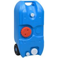 Vesisäiliö pyörillä, 40L, sininen