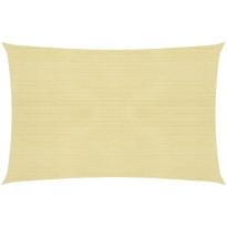 Aurinkopurje 160 g/m², beige 4x5 m HDPE
