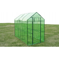 Kasvihuone teräs, 120x240x190 cm