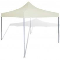 Pop-up teltta kokoontaitettava, avoin, 3x3m, kerma