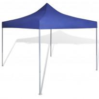 Pop-up teltta kokoontaitettava, avoin, 3x3m, sininen