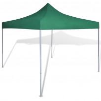 Pop-up teltta kokoontaitettava, avoin, 3x3m, vihreä