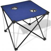Retkipöytä, sininen