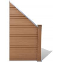 Aitapaneeli, puukomposiitti, 105x(105-185)cm, ruskea