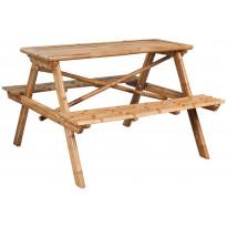 Piknikpöytä, 120x120x78 cm, bambu